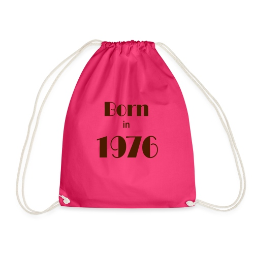 Born in 1976 - Drawstring Bag