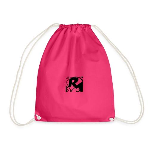 Black R2 - Drawstring Bag