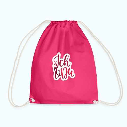 Two lovers - Drawstring Bag