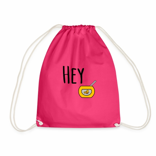Hey Honey - Drawstring Bag