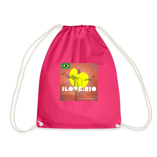 I LOVE RIO RADIO - Drawstring Bag