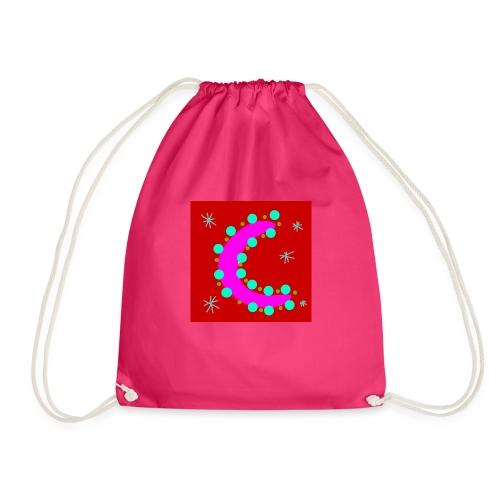 Pink Moon - Drawstring Bag