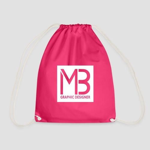 Logo MB Graphic Designer White - Sacca sportiva