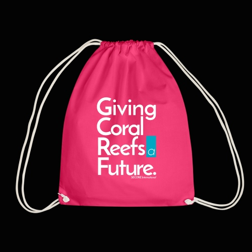 Giving Coral Reefs a Future - Drawstring Bag