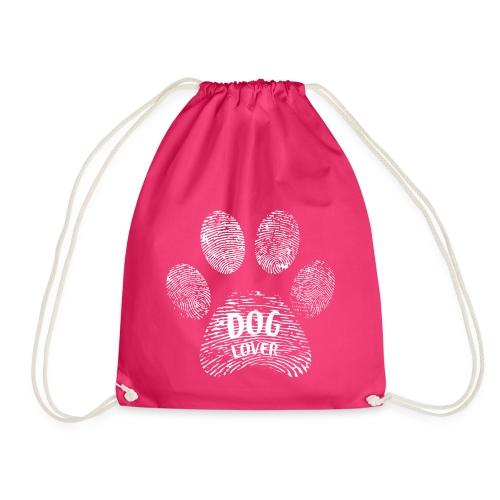dog lover paw - Turnbeutel