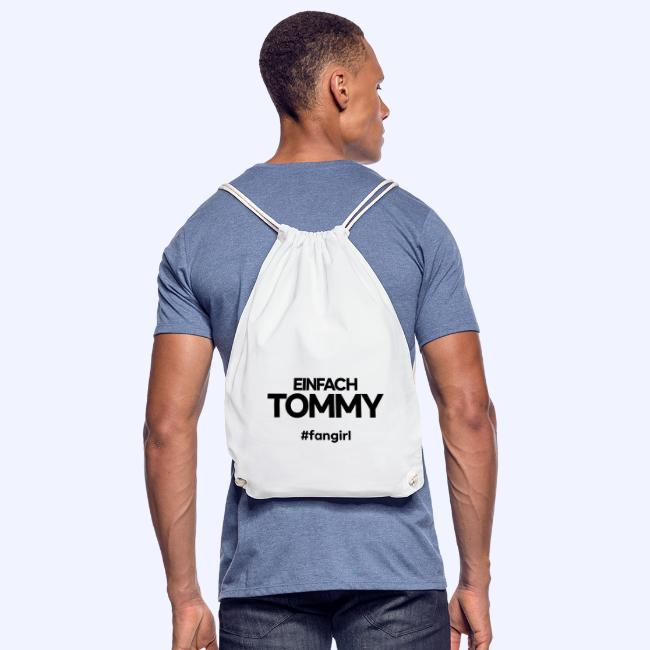 Einfach Tommy / #fangirl / Black Font