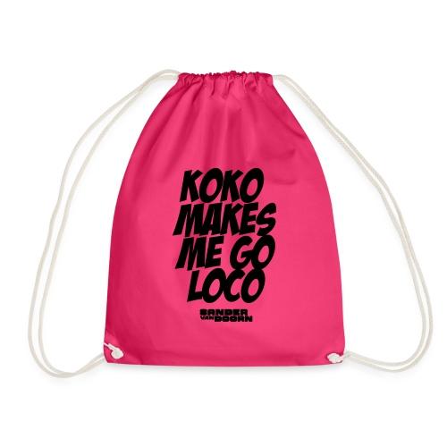 koko design - Drawstring Bag