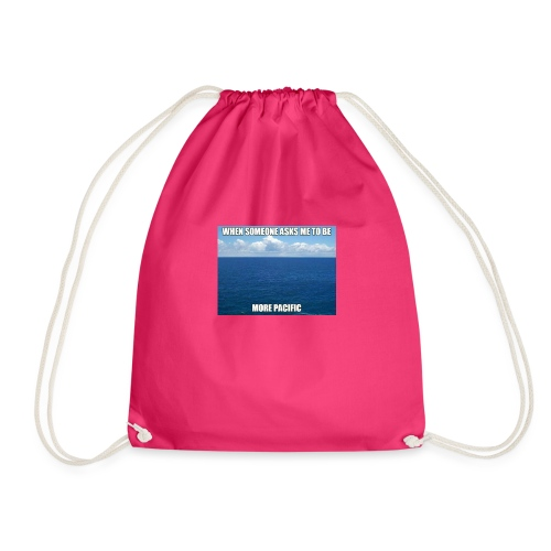 Funny merch - Drawstring Bag
