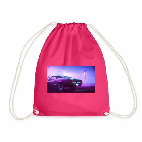 purple scorpion car - Worek gimnastyczny