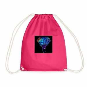 The paint spilt - Drawstring Bag