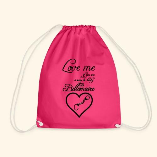 Billionaire Love - Drawstring Bag