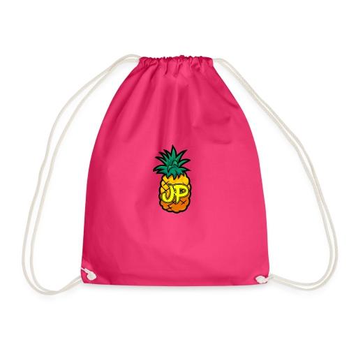 Just Pine Logo Yellow - Drawstring Bag