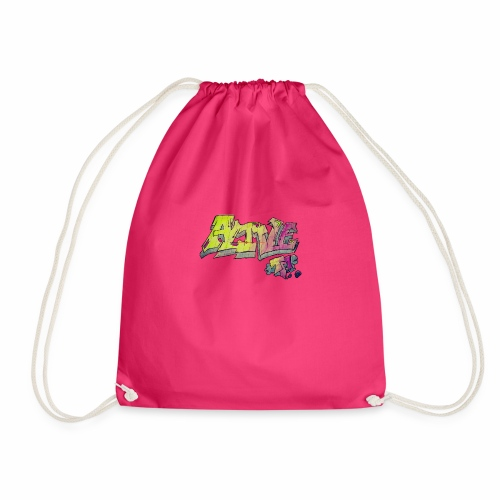 ALIVE TM Collab - Drawstring Bag