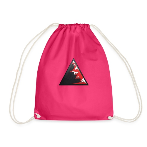 Climb high as a mountains to achieve high - Drawstring Bag