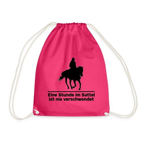 Pferd Pferdesprüche T-Shirt Pferdespruch Reiten - Turnbeutel