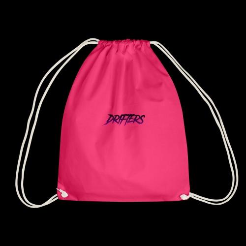 Drifters purple basic logo - Sacca sportiva