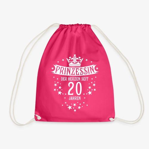 15 Prinzessin der Herzen seit 20 Jahren Geburtstag - Turnbeutel