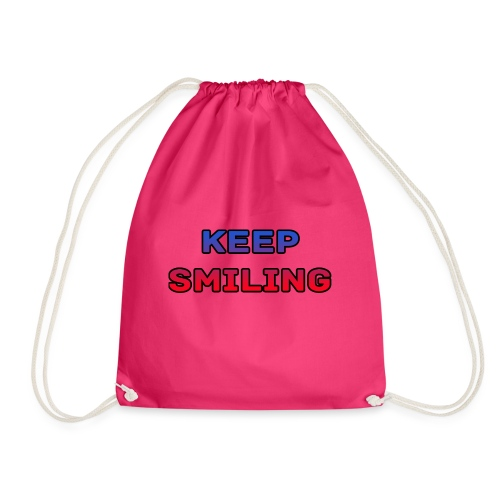 NEW keep smiling Mrspidey - Drawstring Bag