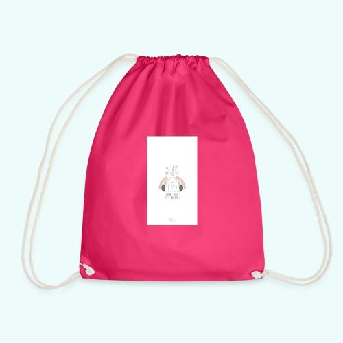 I don't care, I'm a unicorn - Drawstring Bag