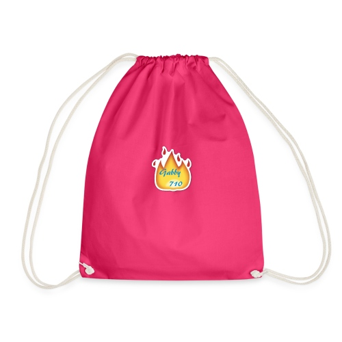 Gabby710 Flame Merch - Drawstring Bag