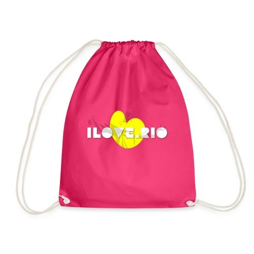 I LOVE RIO, THUMBS UP! - Drawstring Bag