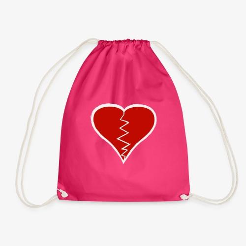 NO GRAViTY (Broken Heart) - Drawstring Bag