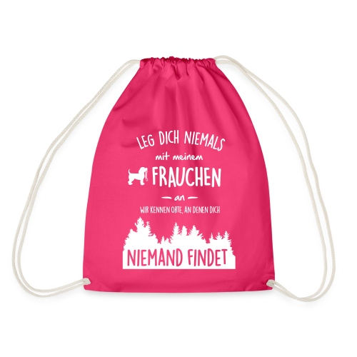 Vorschau: Mein Frauchen - Turnbeutel