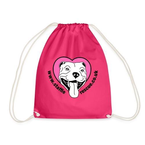 Staffie Rescue - Drawstring Bag