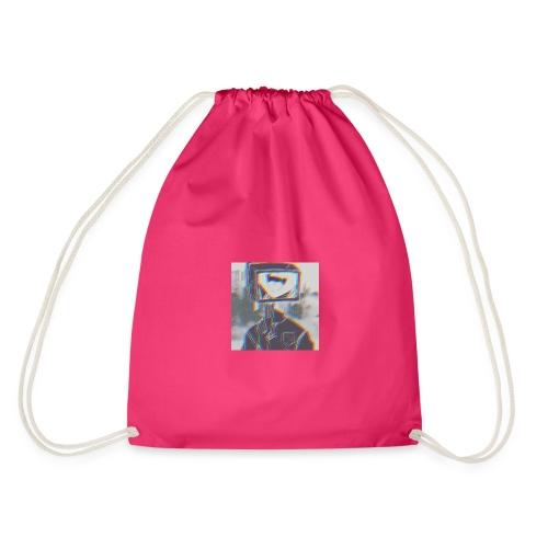 Tv head - Drawstring Bag
