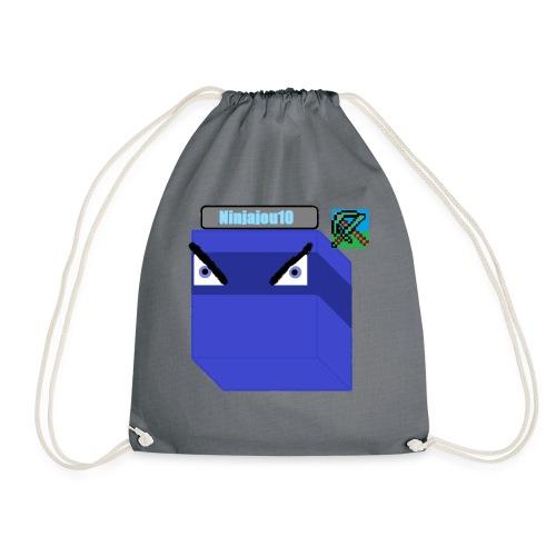 Ninjajou10 LOGO!!! - Drawstring Bag