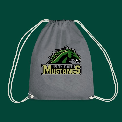 mustangs logo 2019v4 - Drawstring Bag