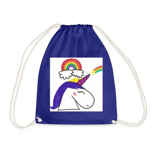 Unicorno arcobaleno - Sacca sportiva