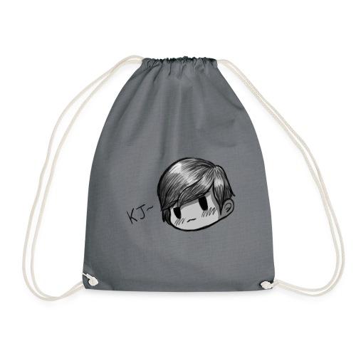 KJ (Black and White Version) - Drawstring Bag