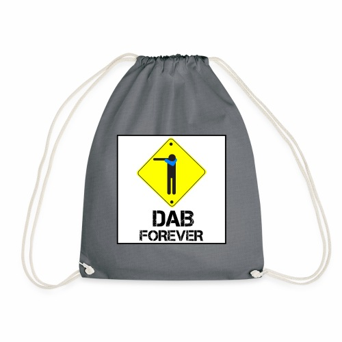 Dab Forever Yellow Black - Sacca sportiva