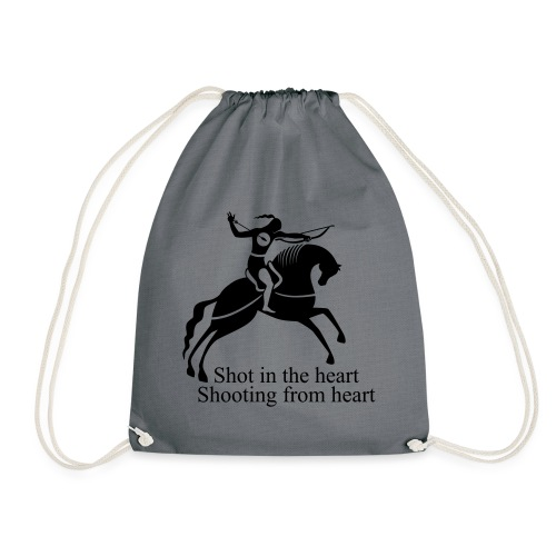 Shot in the Heart - Drawstring Bag