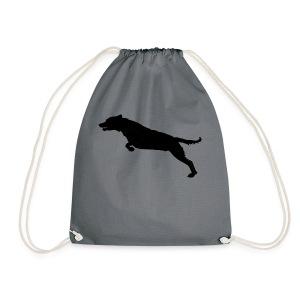 Jumping Dog Silhouette - Gymtas