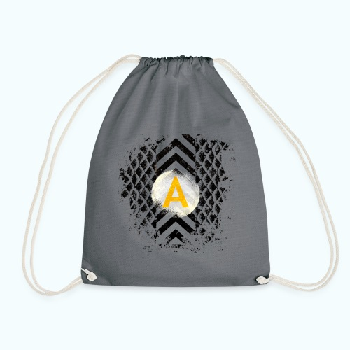 A man - Drawstring Bag
