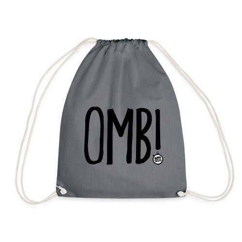 OMB LOGO - Drawstring Bag