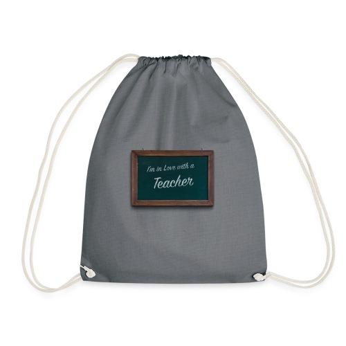 teacher valentine - Drawstring Bag