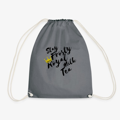 Stay Frosty Royal Milk Tea Fall Out Boy - Drawstring Bag