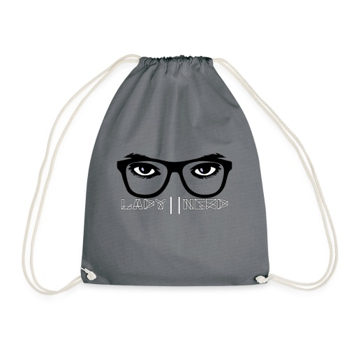 Lady Nerd - Drawstring Bag