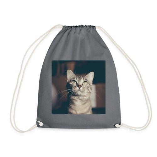 Hauskatzen Blick - Turnbeutel