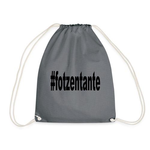 #fotzentante - Turnbeutel