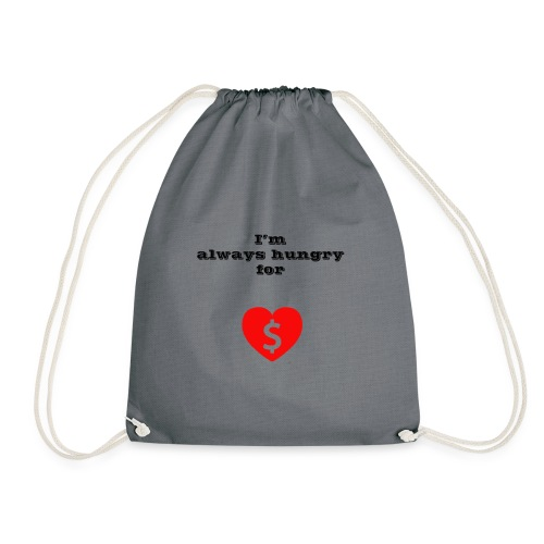 Money or Love - Drawstring Bag