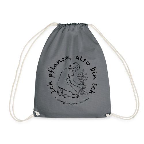 ICH PFLANZE - Drawstring Bag