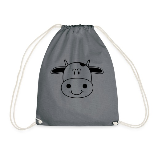 Cute Cow - Drawstring Bag