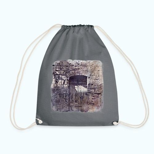 Vintage monochrome - Drawstring Bag