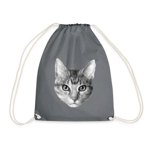 Katze Cat - Turnbeutel