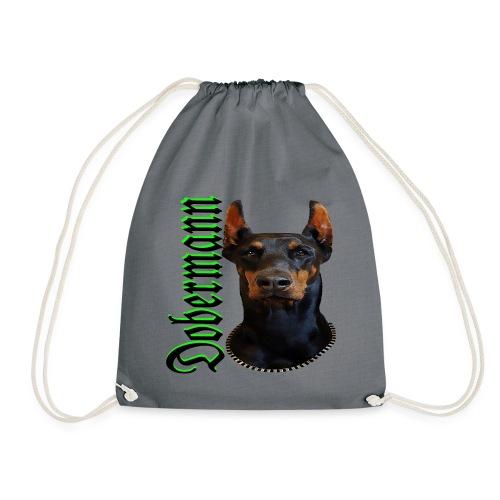 Dobermann Hundekopf Hundesport Hundeliebhaber Hund - Turnbeutel
