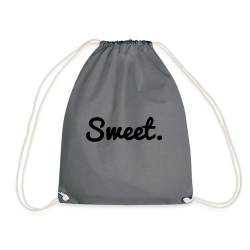 Sweet. - Schriftzug - Turnbeutel